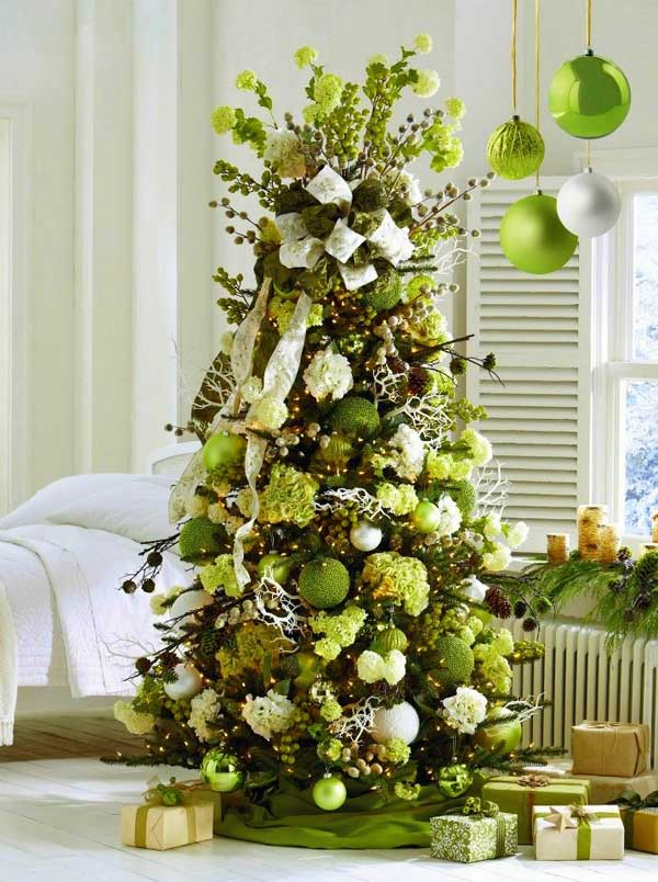 DIY-Christmas-Tree-decoration-Ideas-18 & 25 Creative and Beautiful Christmas Tree Decorating Ideas - Amazing ...