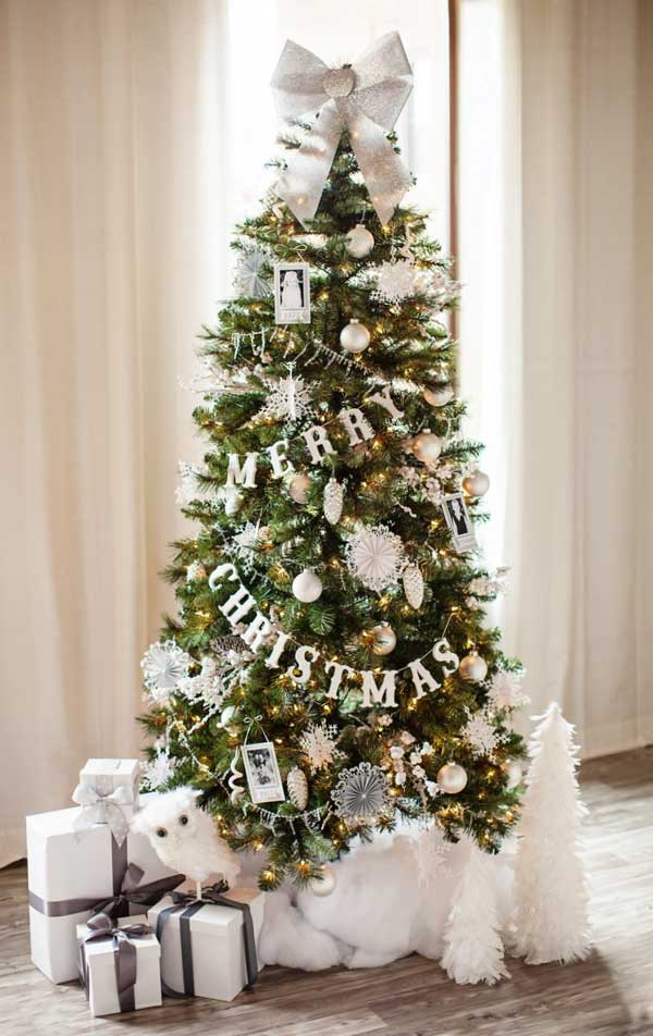 diy christmas tree decoration ideas 2 - Beautifully Decorated Christmas Tree Images
