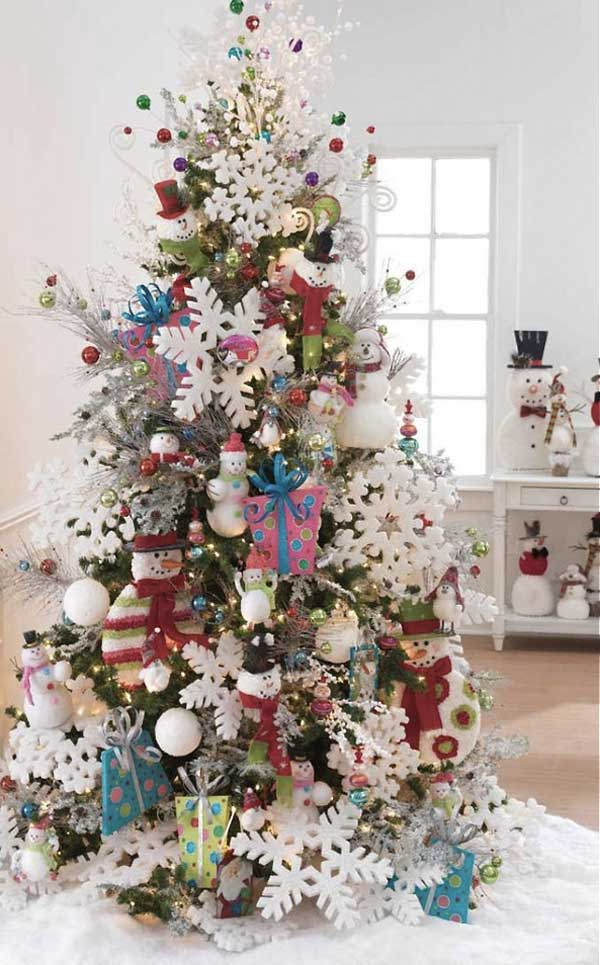 diy christmas tree decoration ideas 23 - Christmas Trees Decorated
