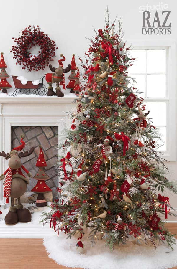 25 creative and beautiful christmas tree decorating ideas. Black Bedroom Furniture Sets. Home Design Ideas