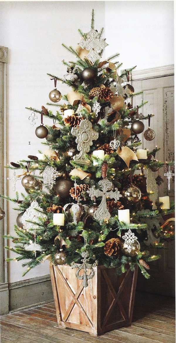 diy christmas tree decoration ideas 4
