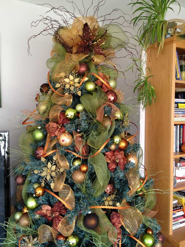 diy christmas tree decoration ideas 6 - Pics Of Decorated Christmas Trees