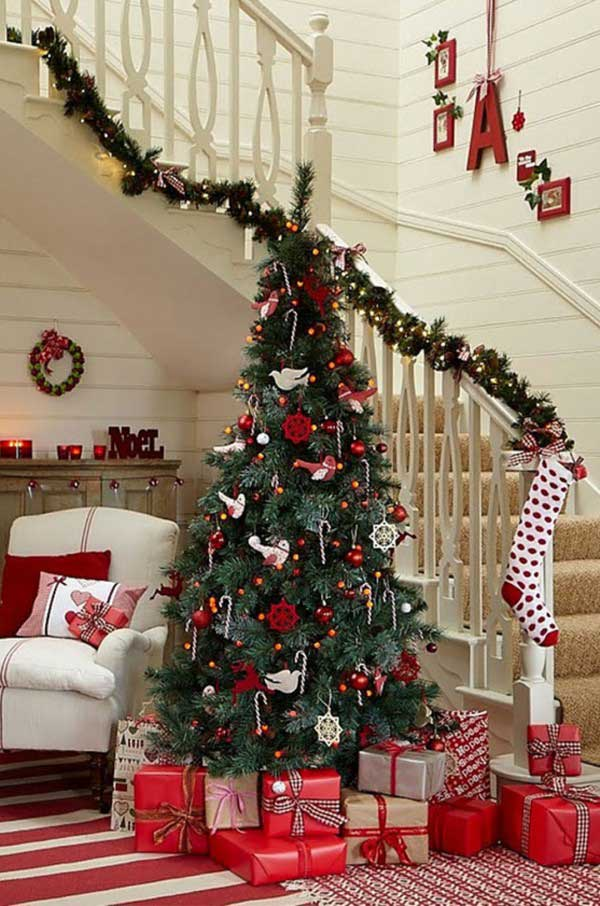 diy christmas tree decoration ideas 7 - Photos Of Decorated Christmas Trees