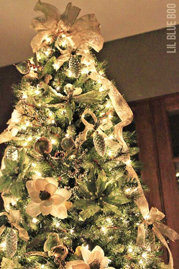 diy christmas tree decoration ideas 9 - Beautiful Christmas Tree Decorations