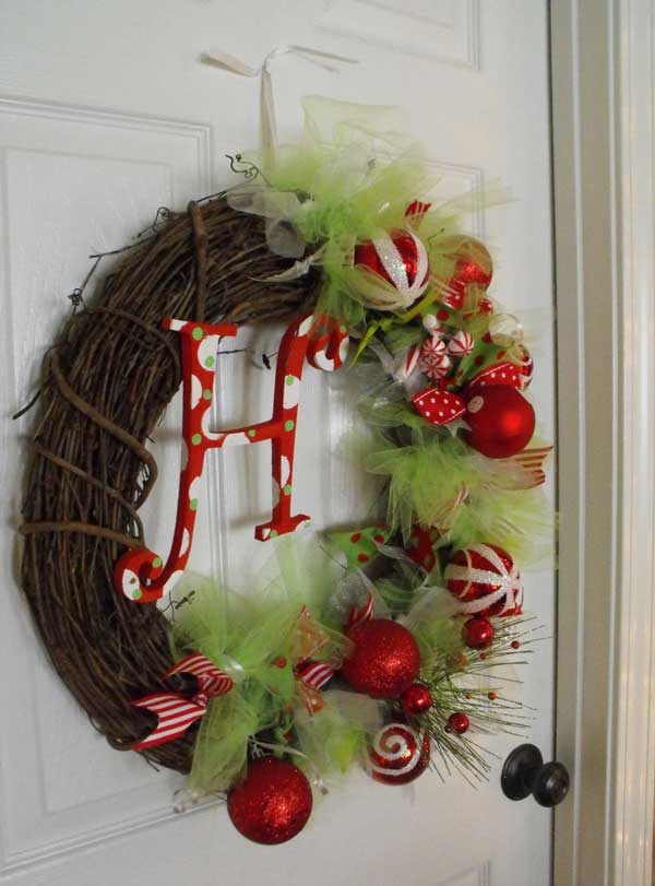 diy christmas wreath 1