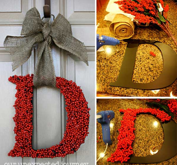 Home Design Ideas Handmade: Top 35 Astonishing DIY Christmas Wreaths Ideas