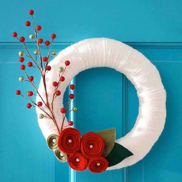 DIY Christmas Wreath 23