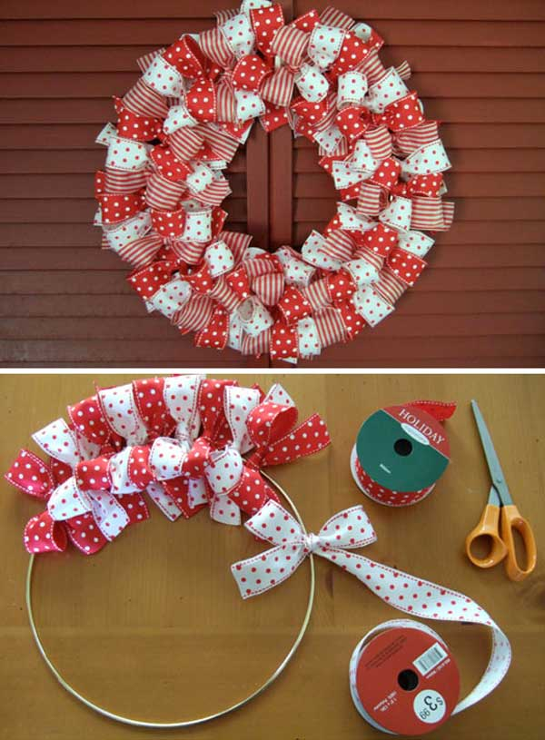 diy christmas wreath 3