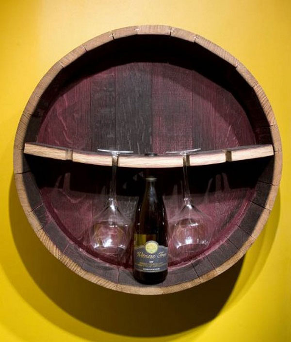 wine barrel wine rack furniture. brilliant rack diywaystoreusewinebarrels21 inside wine barrel rack furniture