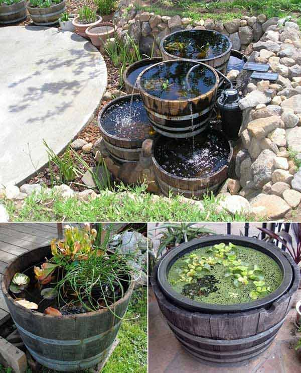 25 Brilliant DIY Ways of Reusing Old Wine Barrels ...