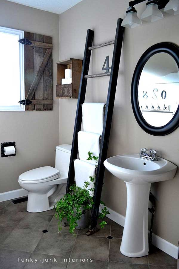 http://www.woohome.com/wp-content/uploads/2013/12/Diy-ways-to-reuse-an-old-ladder-23.jpg