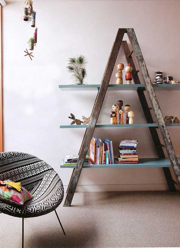 Diy-ways-to-reuse-an-old-ladder-27