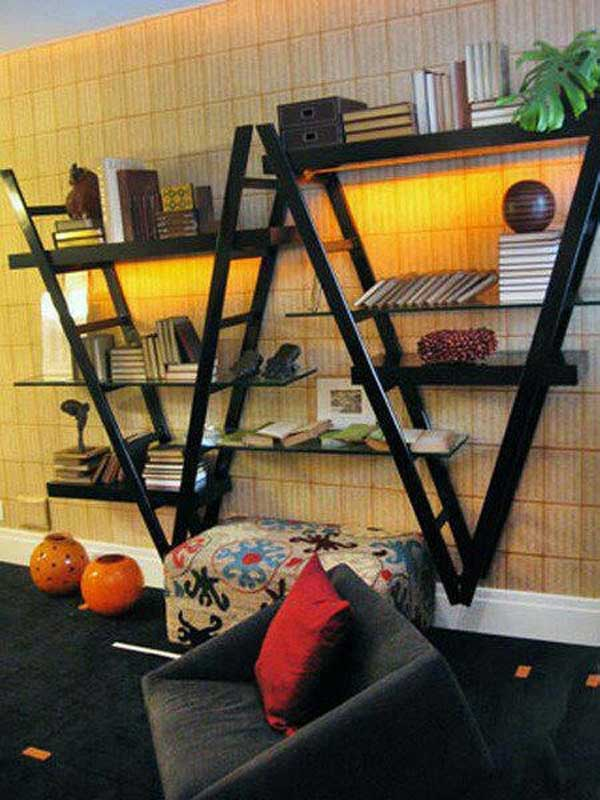 Diy-ways-to-reuse-an-old-ladder-33