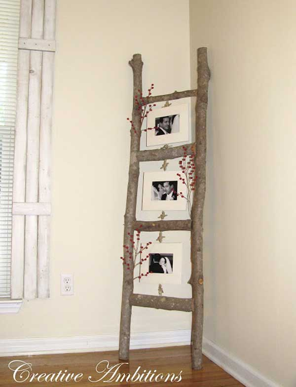 Diy Ways To Reuse An Old Ladder 4