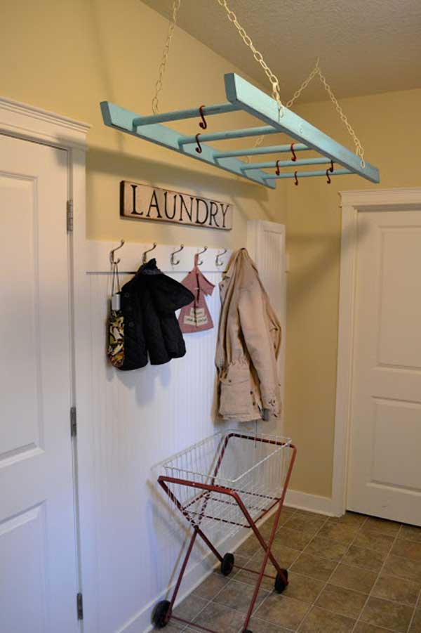 Diy-ways-to-reuse-an-old-ladder-8