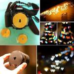 Easy DIY Bokeh Shaped Camera Lens Cover
