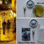 Vintage Pictures and Mason Jars