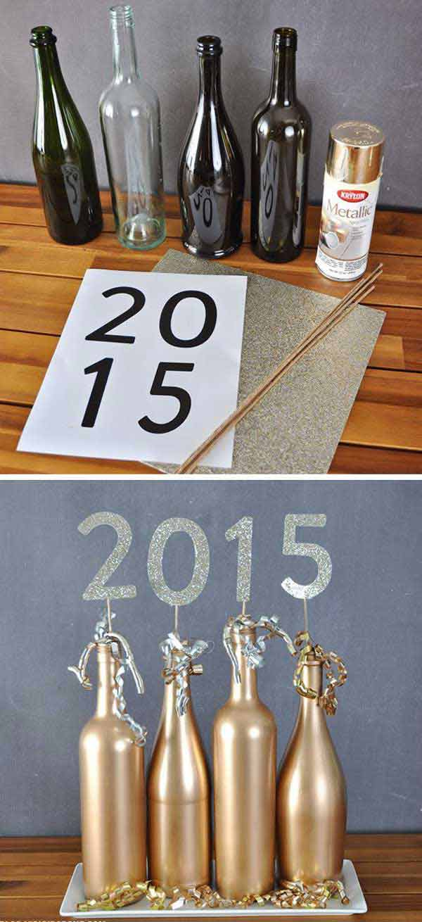 diy-new-year-eve-decorations-2-2 & Top 32 Sparkling DIY Decoration Ideas For New Years Eve Party ...