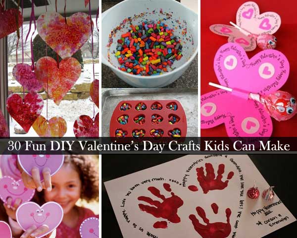 30 fun and easy diy valentines day crafts kids can make amazing valentines day crafts for kid 0 solutioingenieria
