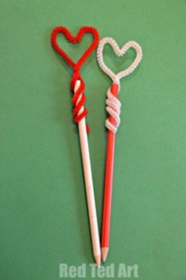 Simple Valentine Crafts For Kids