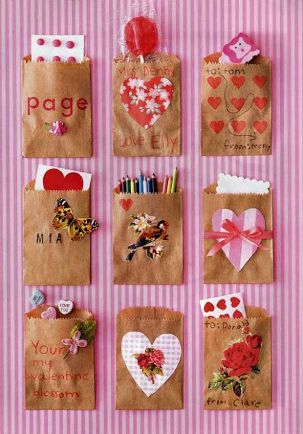 30 fun and easy diy valentines day crafts kids can make for Valentine decorations to make at home