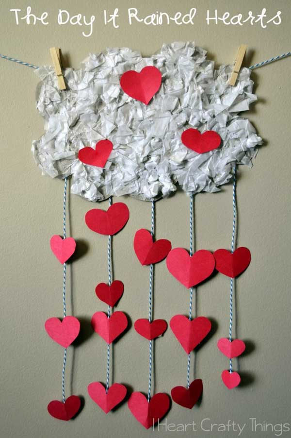 Awesome Valentine Kid Craft Ideas Part - 14: Valentineu0027s-day-crafts-for-kid-22