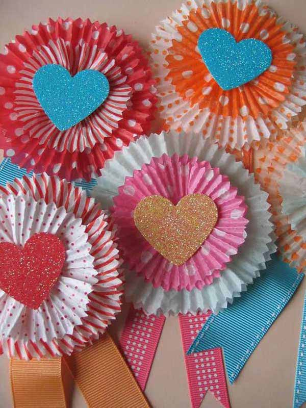 Valentine Kid Craft Ideas Part - 24: Valentineu0027s-day-crafts-for-kid-26