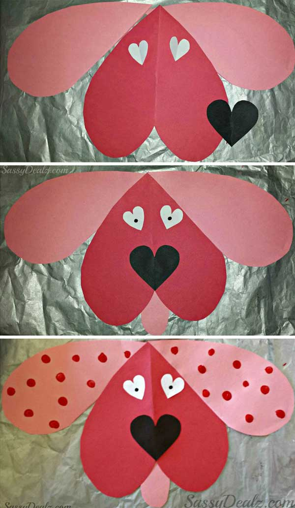 Fesselnd Valentineu0027s Day Crafts For Kid 31