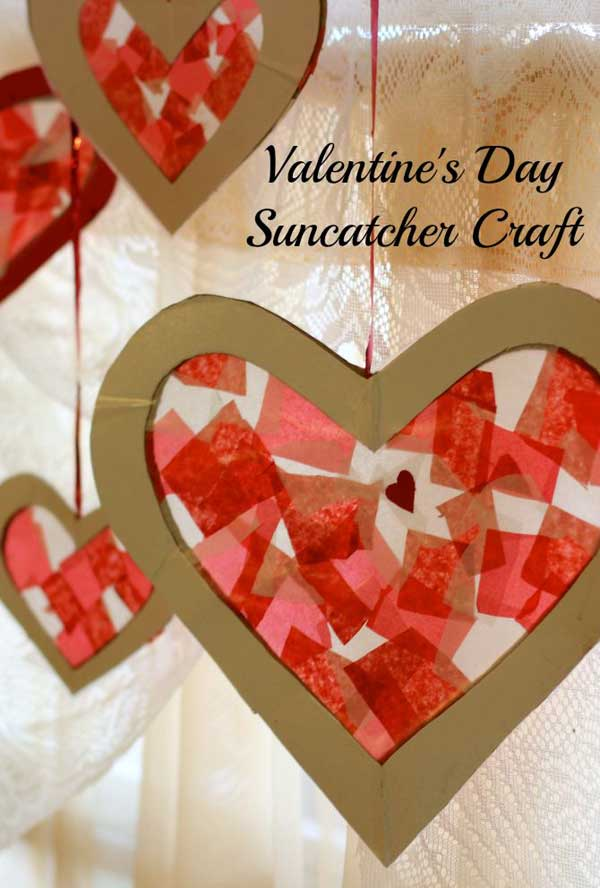 Superb Valentines Craft Ideas For Kids Part - 2: Valentineu0027s-day-crafts-for-kid-32