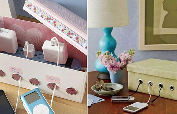 diy-upcycled-shoe-box-charging-station
