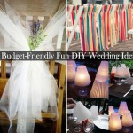30 Budget-Friendly Fun and Quirky DIY Wedding Ideas