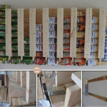 DIY Canned Food Storage Rack