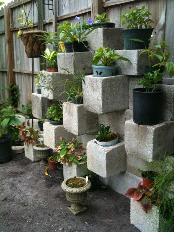 Planter Garden Ideas tree stump garden ideas 9 Diy Garden Pots 11