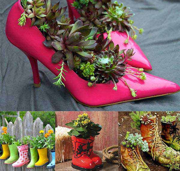 Top 30 stunning low budget diy garden pots and containers amazing diy interior home design - Pretty diy flower pot ideas ...