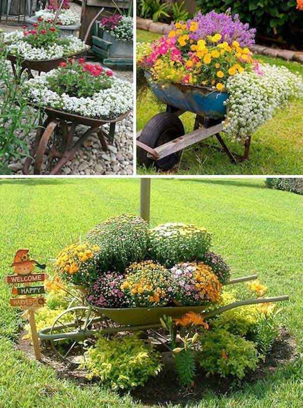 Garden Ideas Pots top 30 stunning low-budget diy garden pots and containers