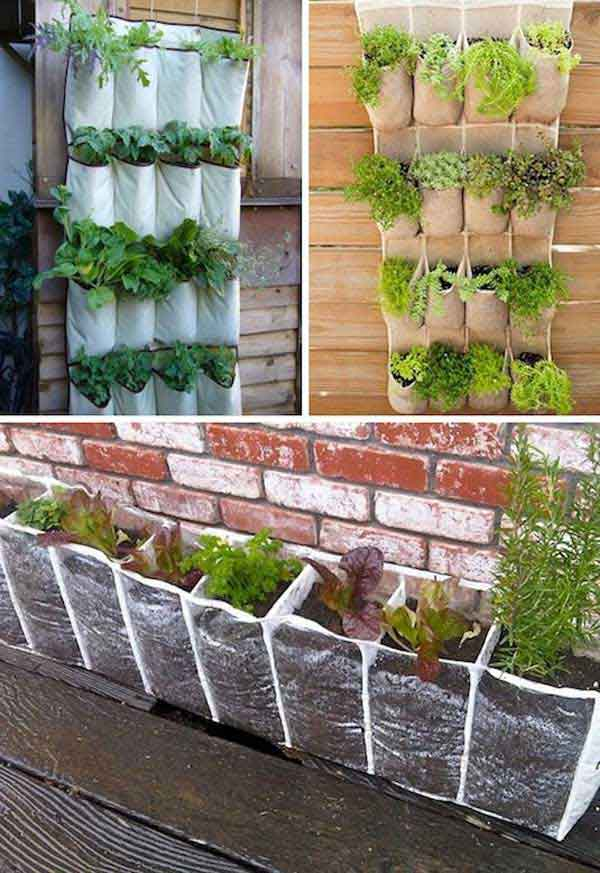 Wonderful Herb Garden Planter Ideas Part - 11: DIY-Garden-Pots-21