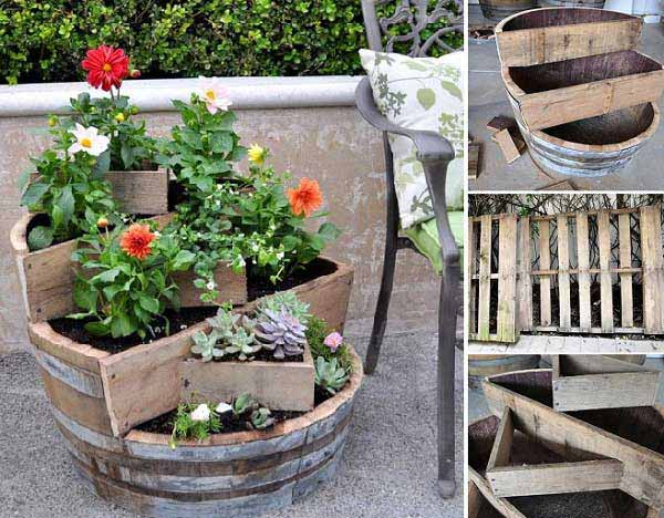 Marvelous DIY Garden Pots 7