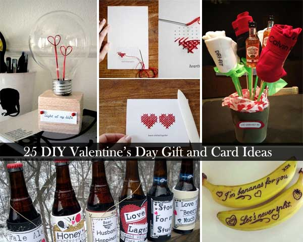 25 Easy Diy Valentines Day Gift And Card Ideas