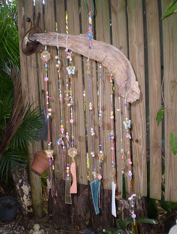 30 brilliant marvelous diy wind chimes ideas for How to make a simple wind chime