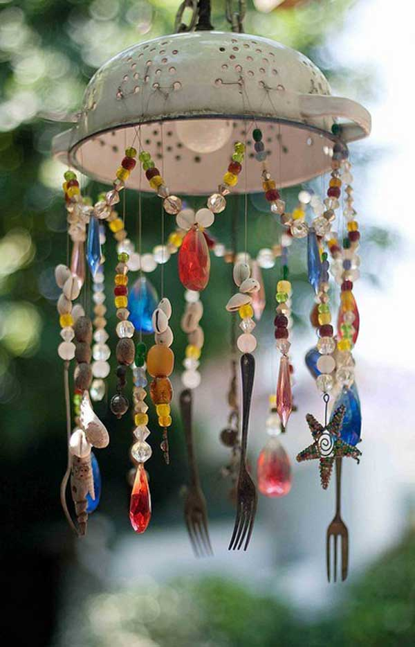 30 brilliant marvelous diy wind chimes ideas for Homemade chimes