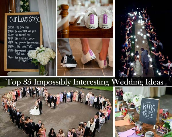 Top 35 impossibly interesting wedding ideas amazing diy interior impossibly interesting wedding ideas 0 solutioingenieria Image collections
