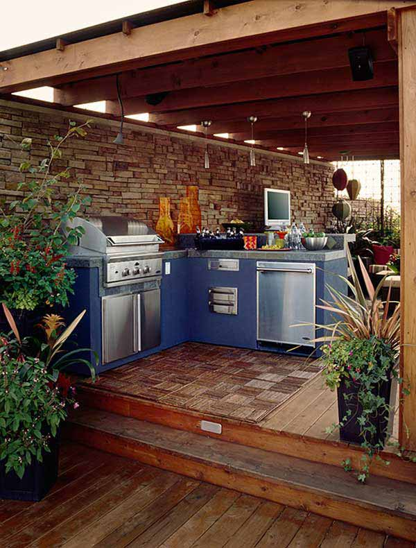 Outdoor Kitchen Ideas Let You Enjoy Your Spare Time ...