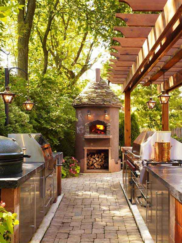 Outdoor Kitchen Ideas Let You Enjoy Your Spare Time ... on Patio Kitchen id=62661