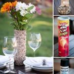 DIY Pebbled Flower Vase for Spring Decor