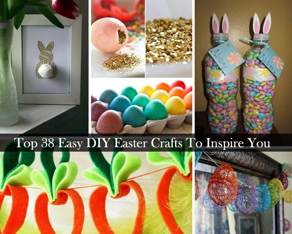 Top 38 easy diy easter crafts to inspire you amazing diy for How to make easter decorations for the home