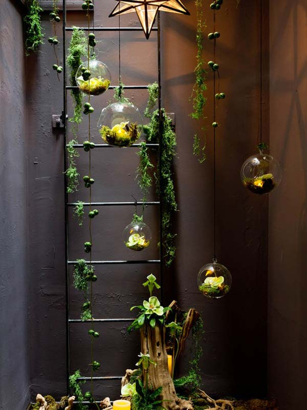 26 mini indoor garden ideas to green your home amazing for Small indoor patio ideas