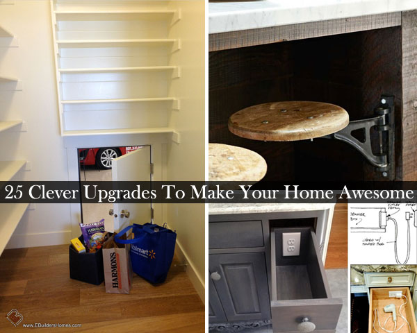 25 Simple Clever Upgrades To Make Your Home Extremely Awesome ...