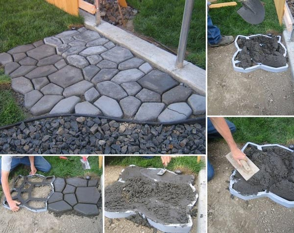 Concrete-Cobblestone-Path-for-Your-Backyard