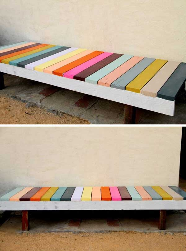 35 Popular DIY Garden Benches You Can Build It Yourself ...