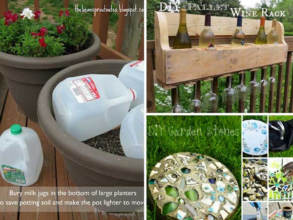 22 diy gardening projects that you can actually make for Diy home garden design